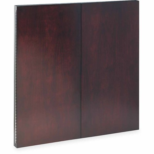 "Mayline Corsica Series Veneer Dry Erase Presentation Board, 48"" x 48"", Mahogany Frame"