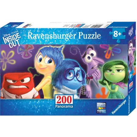 Disney Inside Out Panoramic Puzzle: Emotions, 200 Pieces