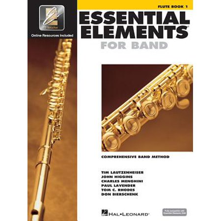 Essential Elements for Band - Flute Book 1 with (New Essential Elements)