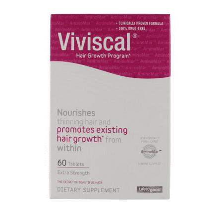 Viviscal Hair Growth Program Extra Strength Dietary Supplement  60 Ct