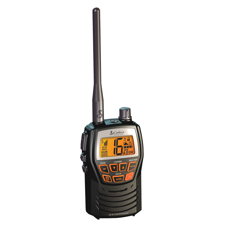 Cobra Electronics Corporation MRHH125 Handheld Vhf Radio Hh125