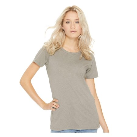 Lilac Ice Apparel - Next Level T-Shirts Women's CVC Crew