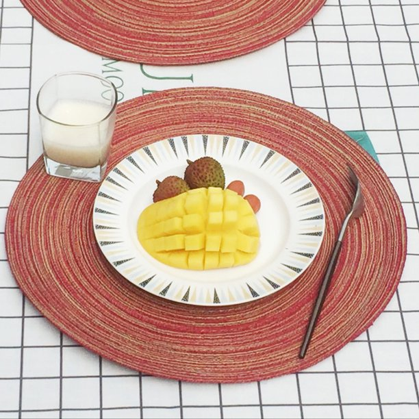 Round Circle Placemats Table Place Mats