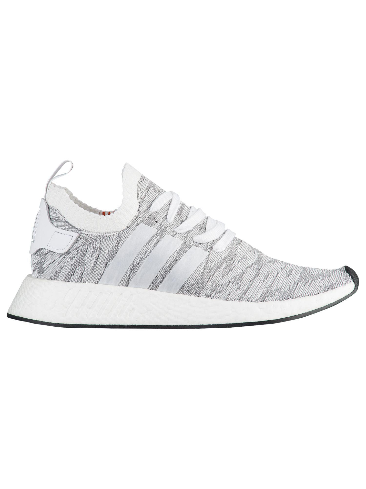 adidas Originals NMD R2 Primeknit Men's Running Shoes WhiteWhiteBlack