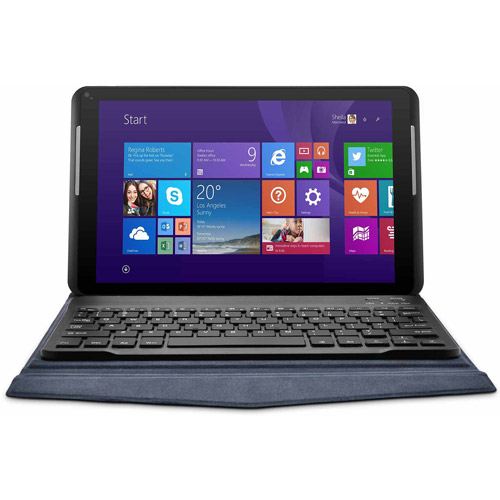 Ematic Intel Quad-Core Windows EWT106-BL 10-Inch 16 GB Tablet