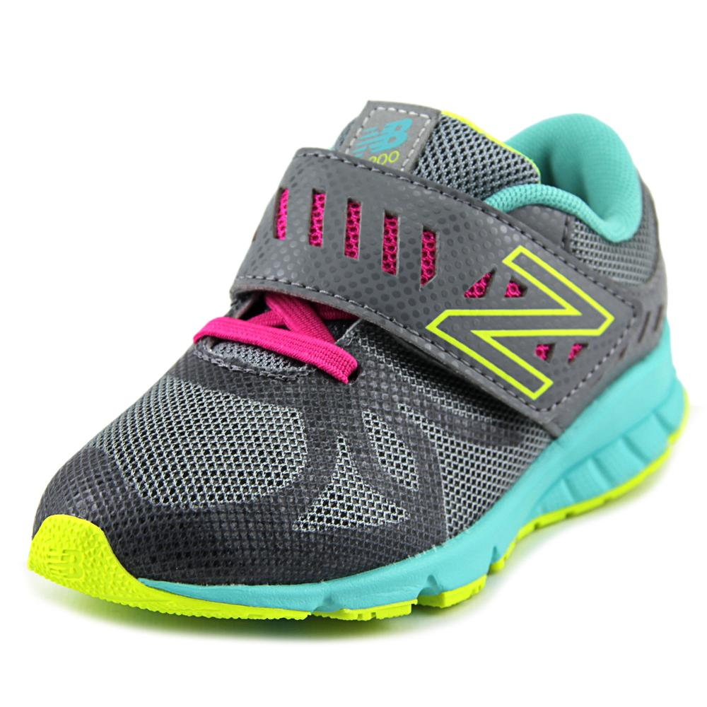 New Balance KV200 Toddler Walking  Round Toe Synthetic Gray Walking Toddler Shoe 3d0ef8