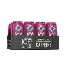 Sparkling Water: Sparkling Ice + Caffeine