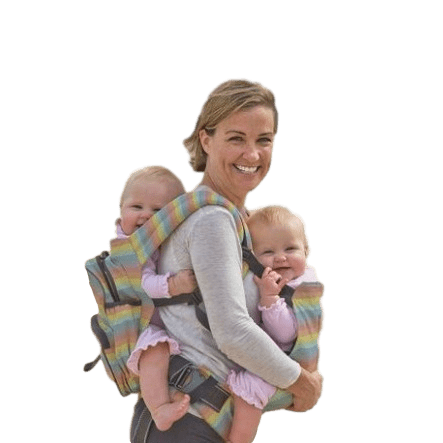 Stuff 4 Multiples Twingaroo Double Carrier- Rainbow Edition by stuff 4 multiples