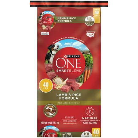 Purina ONE SmartBlend Natural Lamb & Rice Formula Adult Dry Dog Food - 40 lb. Bag - Lamb Dog Costume
