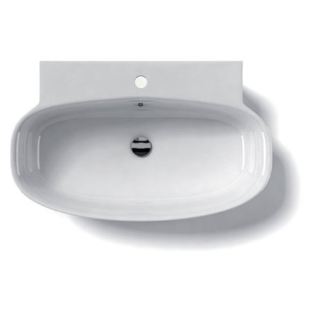 WS Bath Collections LVO 75W Wall Mount Bathroom Sink