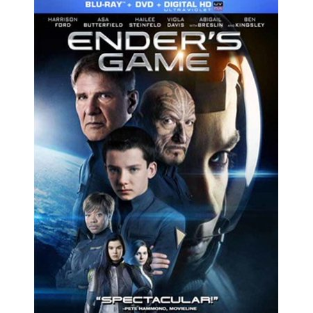 Ender's Game (Blu-ray + DVD + Digital HD)