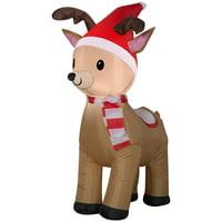 Airblown 3.5' Inflatable Reindeer