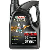 Castrol EDGE 0W-20 Advanced Full Synthetic Motor Oil, 5 Quarts