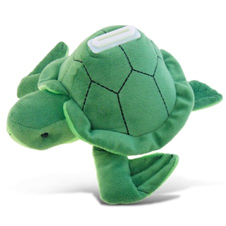 Plush Bank - Sea Turtle 12 Inch Vinyl Bank