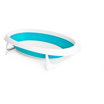 Boon Naked Collapsible Baby Bathtub (Blue/White)