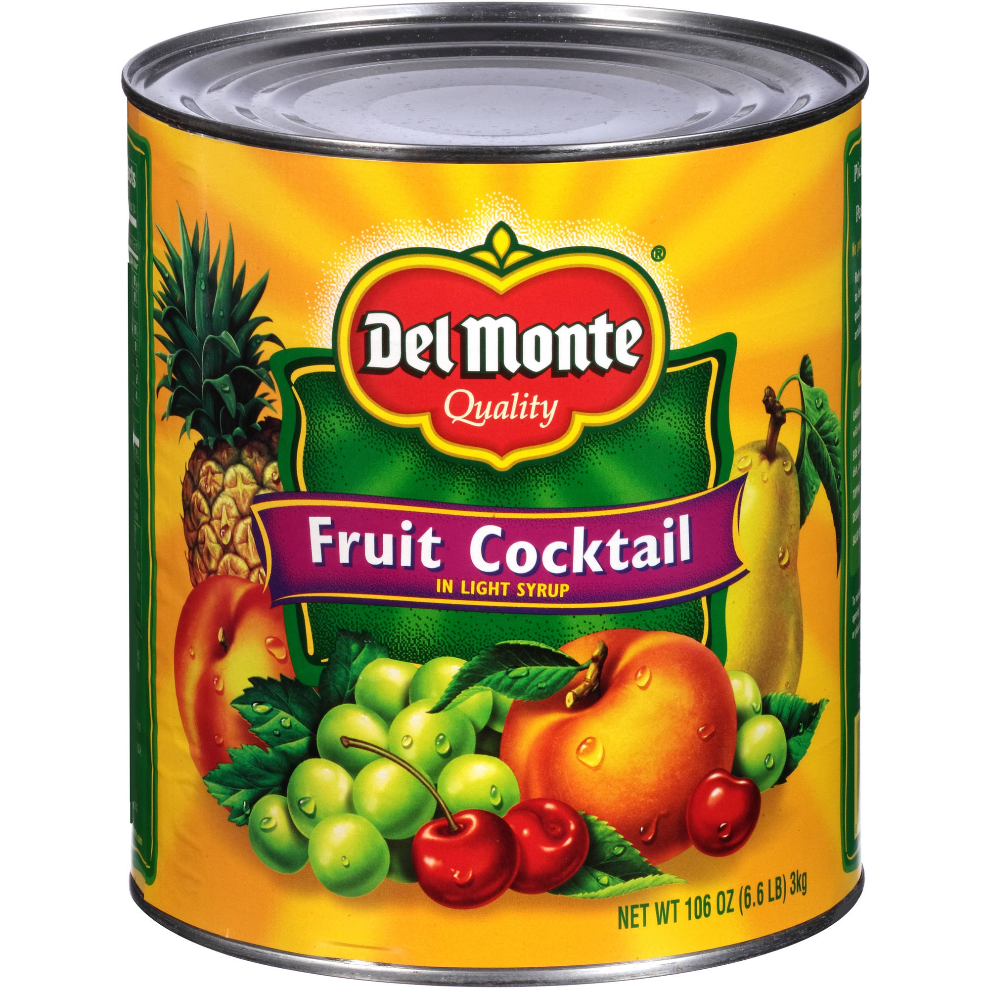 Del Monte:  Fruit Cocktail, 106 Oz