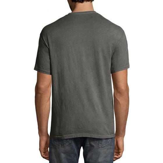 ce32e0091 Hanes - Men's ComfortWash Garment Dyed Short Sleeve Tee - Walmart.com