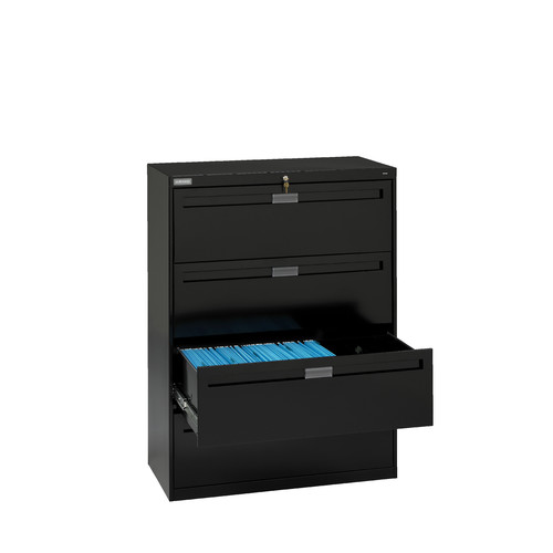 Tennsco Corp. 5-Drawer  File