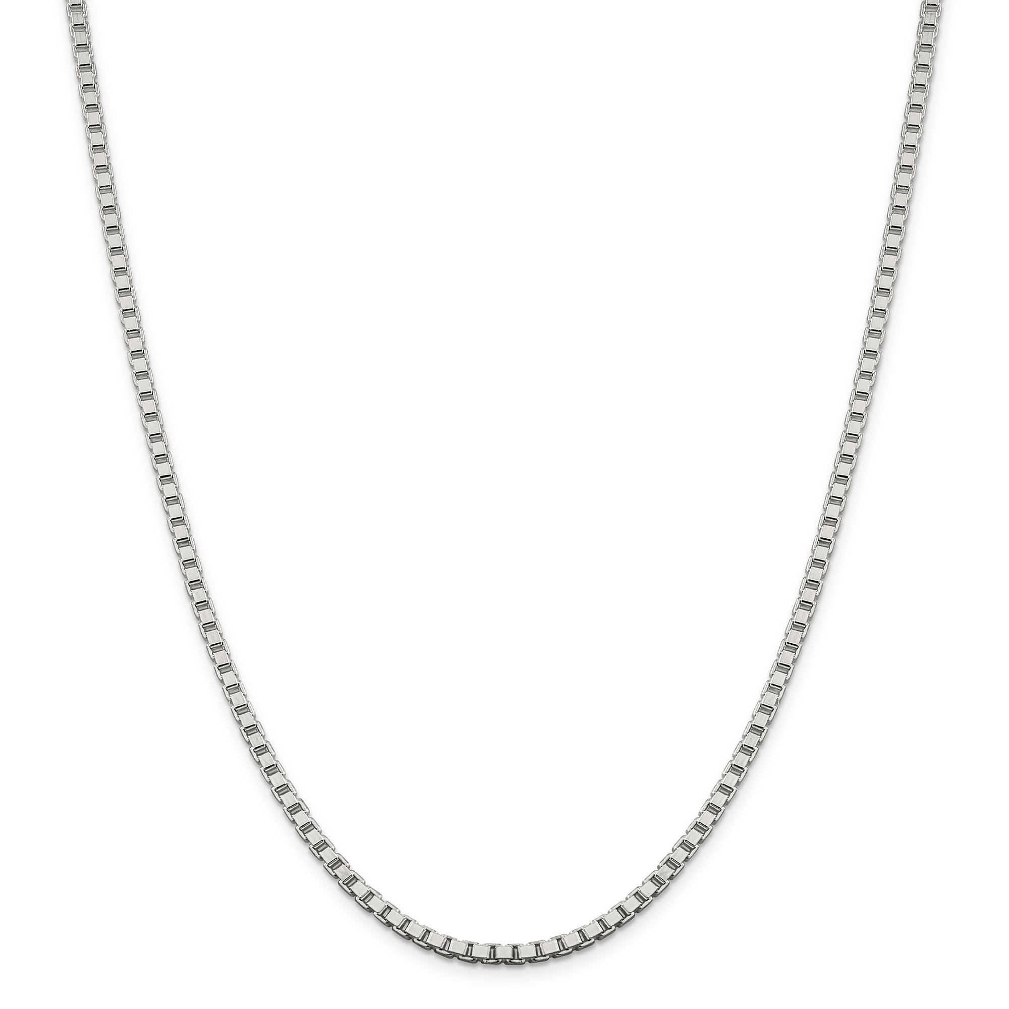 925 Sterling Silver 3.25mm Box Chain