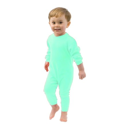 MONAG Infant  Long Sleeve Romper](Infant Tuxedo Romper)