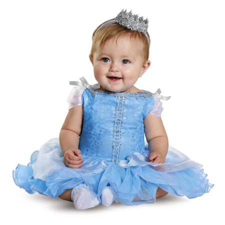 Disney Princess Cinderella Prestige Toddler Halloween Costume, 12-18 Months - Cinderella Costumes For Toddlers