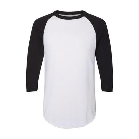 Augusta Sportswear T-Shirts - Long Sleeve Three-Quarter Sleeve Baseball Jersey 4420