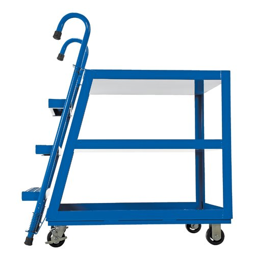 Vestil 3 Shelf Stock Picker Utility Cart