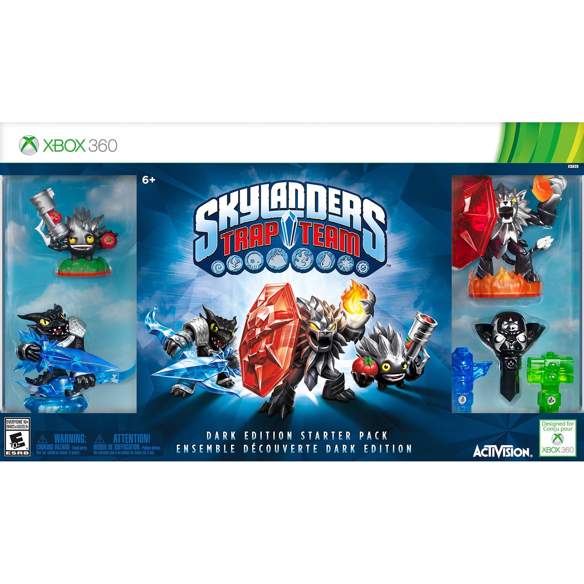 Skylanders Trap Team Dark Edition Starter Pack - Xbox 360