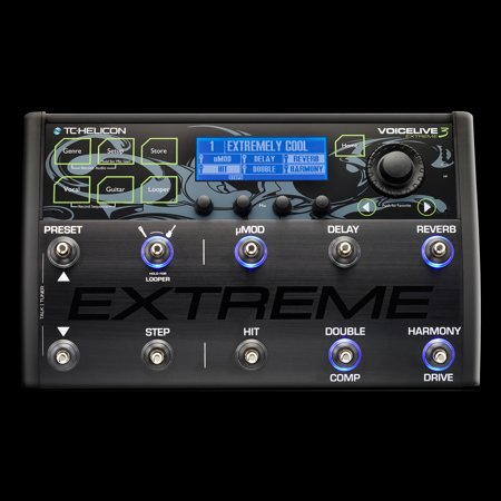 TC Helicon VoiceLive 3 Extreme Vocal Effects