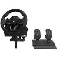 HORI, APEX Racing Wheel, PlayStation 4, Black, PS4-052U