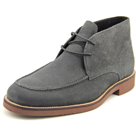 Franklin & Freeman Butler Men  Round Toe Leather Gray Oxford Men Gray Leather