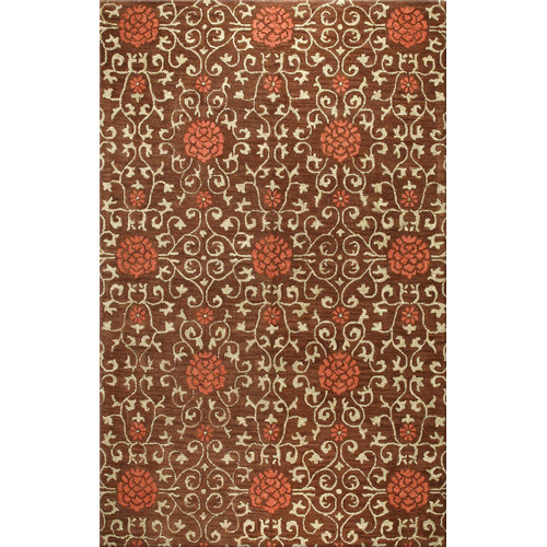 Bashian Rugs Porto Chocolate Area Rug