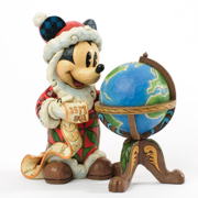 Jim Shore Disney St. Mick with Globe 2013 Mickey Mouse