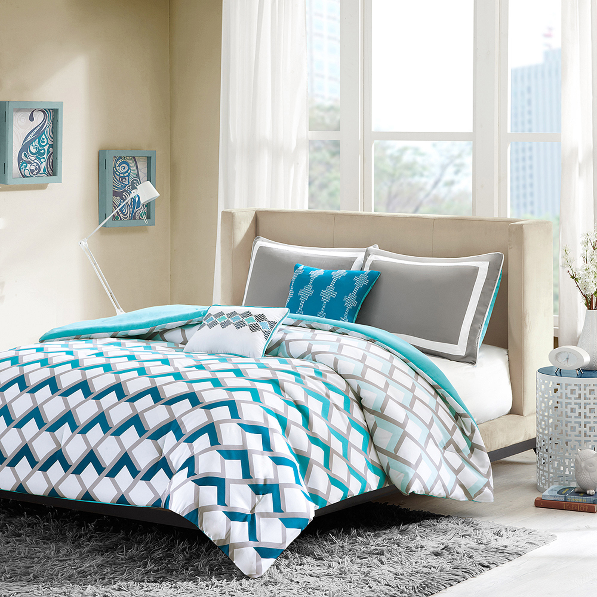 Home Essence Apartment Luna Bedding Comforter Set