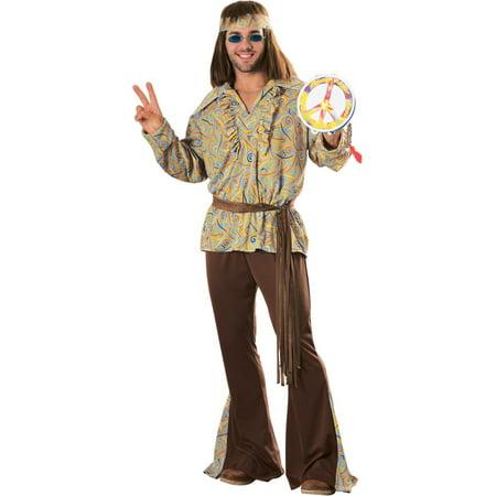Hippie Costumes Men (Men's Mod Marvin Hippie Costume - Size)