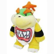 "Nintendo Little Buddy LLC, Super Mario All Star Collection: 9"" Bowser Jr. Plush Toy"