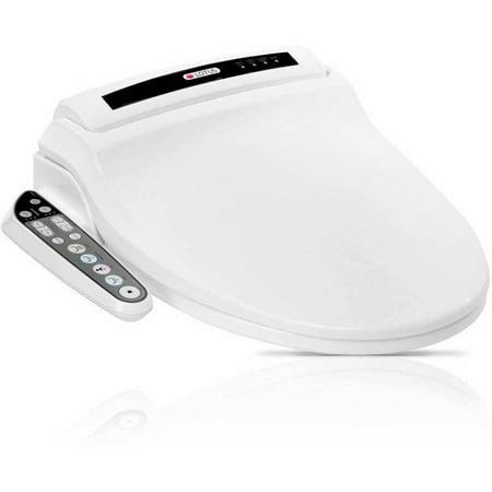 small round toilet seat. Lotus ATS 908 Round Smart Toilet Seat Bidet  White Walmart com