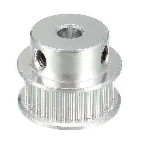 Aluminum GT2 30 Teeth 5mm Bore Synchronous Wheel Idler Pulley for 3D Printer