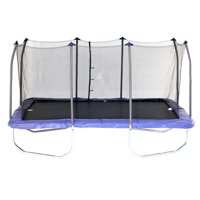 Skywalker Trampolines 15 Rectangle Trampoline with Enclosure, Blue (Box 1 of 3)