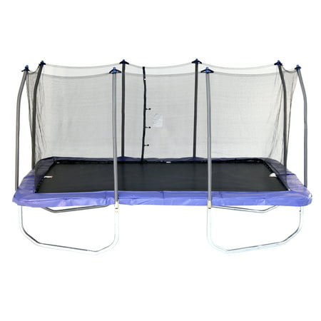 Skywalker Trampolines 15' Rectangle Trampoline with Enclosure, Blue (Box 1 of 3)