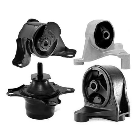 K0014 Fits 2001-2005 Honda Civic 1.7L Engine & Transmission Mount for Manual 4PCS : A6589, A4539, A6588, A4511