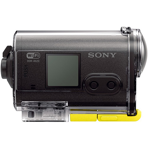 Camara De Video SONY HDR-AS20 compacta POV acción Full HD Camcorder + Sony en Veo y Compro