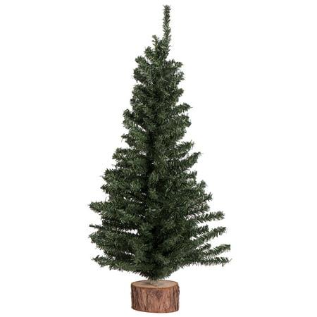 "Vickerman Artificial Christmas Tree 12"" Mini Pine Tree 152 ..."