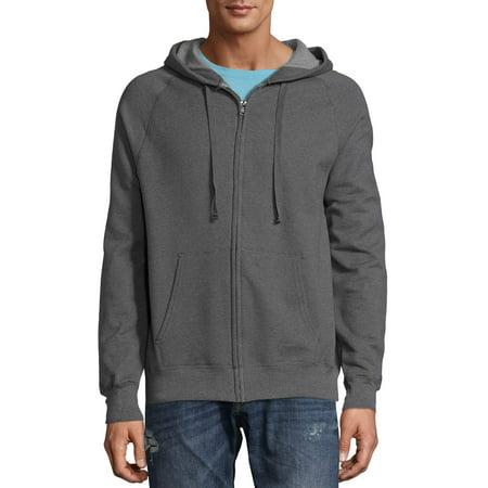 Hanes Men's Nano Premium Soft Lightweight Fleece Full Zip Hood