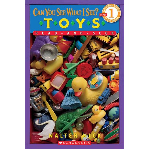 Can You See What I See?: Toys: Read-and-seek