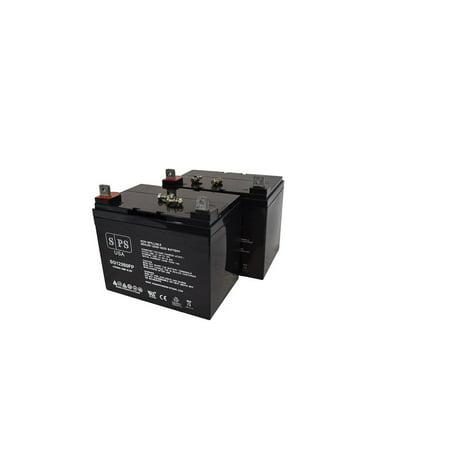 Sps Brand 12v 35ah Battery For Lawn Mower Hustler Walk