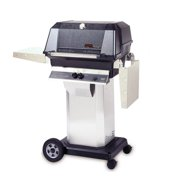 40000 BTU LP Gas Grill Head w Stainless Column & Patio Base