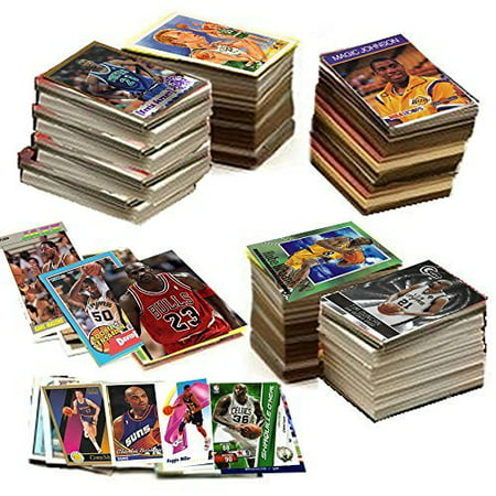 600 Basketball Cards Including Rookies, Many Stars, & Hall-of-famers. Ships in New White Box Perfect for Gift Giving.., By Topps Upper deck Donruss Fleer Score Upperdeck Ship from US