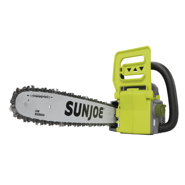 Sun Joe iON16CS Cordless Chain Saw | 16 inch | 40V | Brushless Motor by Sun Joe