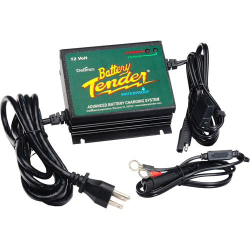 Deltran 12V 5-Amp Battery Tender Waterproof Power Tender Plus